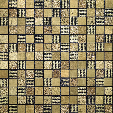 MIX | GOLD Mosaic cm 2,2 x 2,2