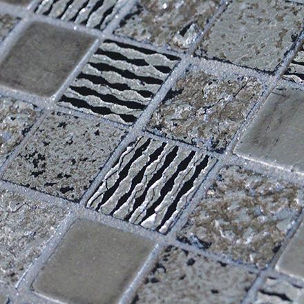 ΜΙΧ | Silver Mosaic cm 2,2 x 2,2