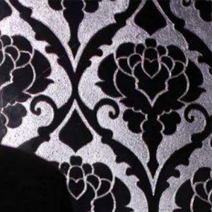 IOLI | cm 30,5 x 61 - Decor Cenere - Background Silver