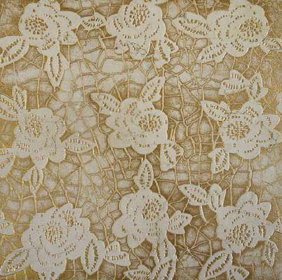DANDEL | cm 30,5 x 30,5 - Decor Sand - Background Gold