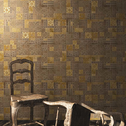 PATCHWORK | Decor Ammos | Background Gold / Ammos