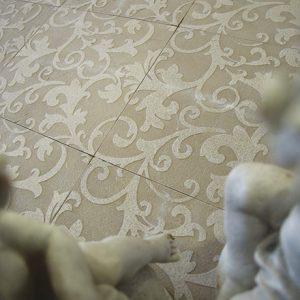 LN ALISE cm 30,5 x 30,5 Marble: Tortora