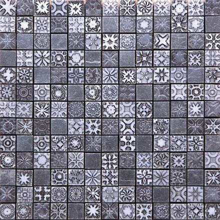 CPS | 0208 - 19 Mosaic cm 2,2 x 2,2