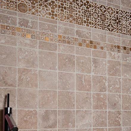 CPG | 0518 Mosaic cm 5 x 5/ CPG | 0218-18 Mosaic cm 2,2 x 2,2