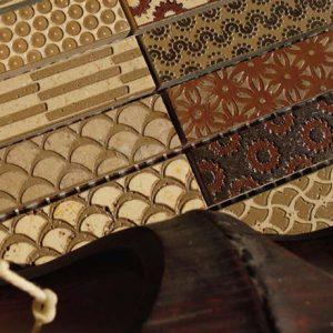 CPL | 2510 - BROWN Mosaic cm 2,3 x 10