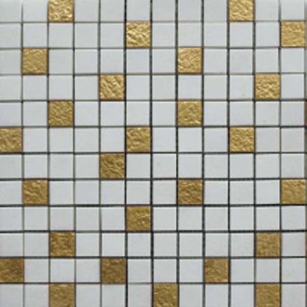 COMP GK 0209 Mosaic cm 2,2 x 2,2 Marble Thassos