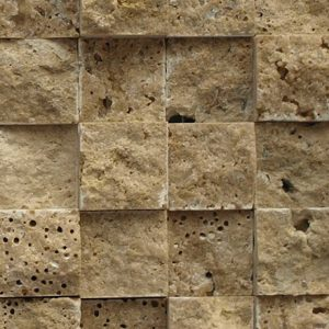 SF 0204 Mosaic cm 2,2 x 2,2 Marble Travertino