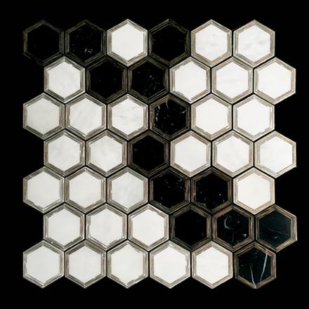 EXI-S-Nero Marquino, White